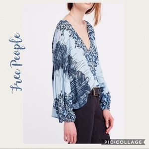 NWT Free People Birds of a Feather Top